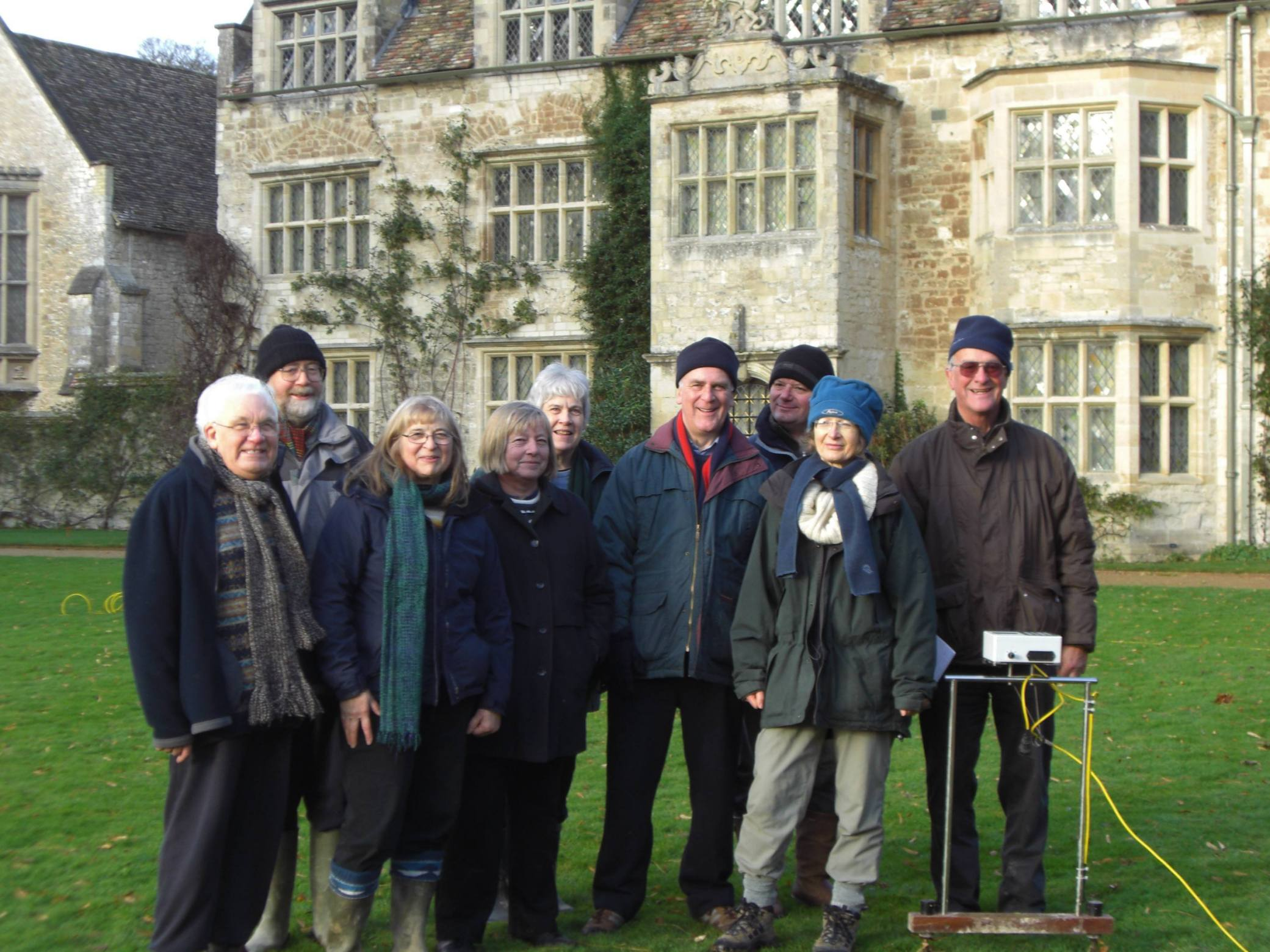 Group at Anglesey Abbey Nov 10